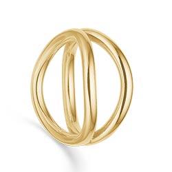 Rs of scandinavia ring i 14 karat gull