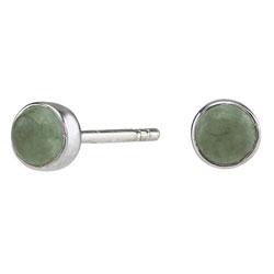 Pene NORDAHL ANDERSEN grønn øredobber i sølv grønne aventuriner