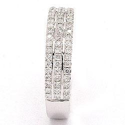 bestillingsvare - diamant ring i 14 karat hvitt gull 0,40 ct