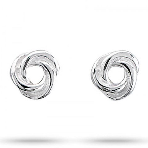 Søte Aagaard knute øredobber i sølv