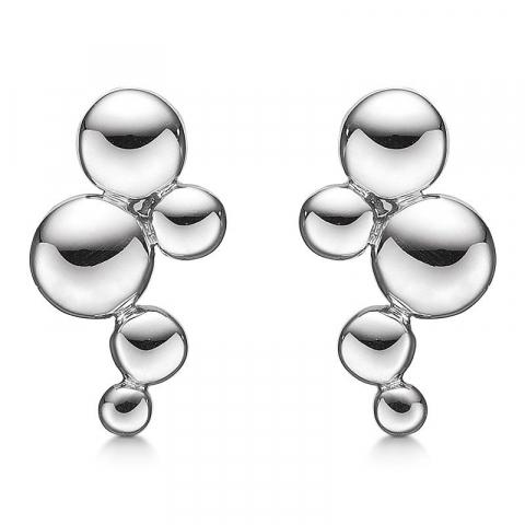 nydelige Støvring Design sirkel øredobber i sølv