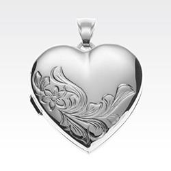 Medaljong i sølv