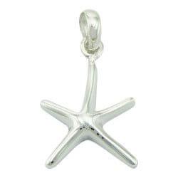 Søtt sjøstjerne anheng i sølv
