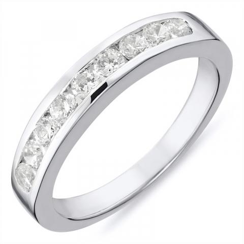 vakker sølv ring i rodinert sølv