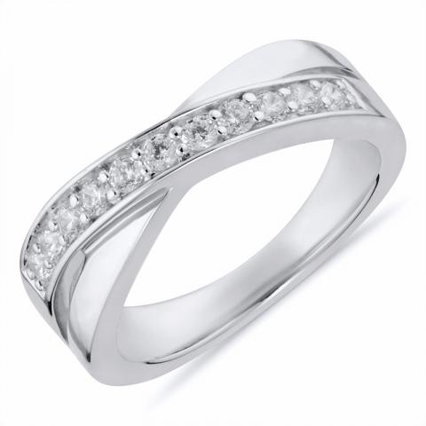 Flott ring i rodinert sølv