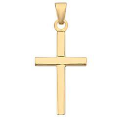 Søtt gull BNH kors i 8 karat