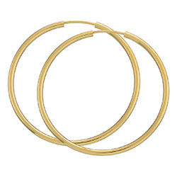 40 mm bnh creol i 14 karat gull