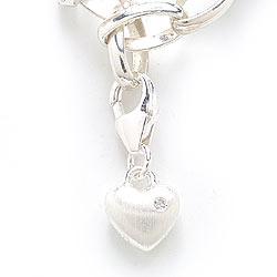 Flott charms til armbånd i sølv